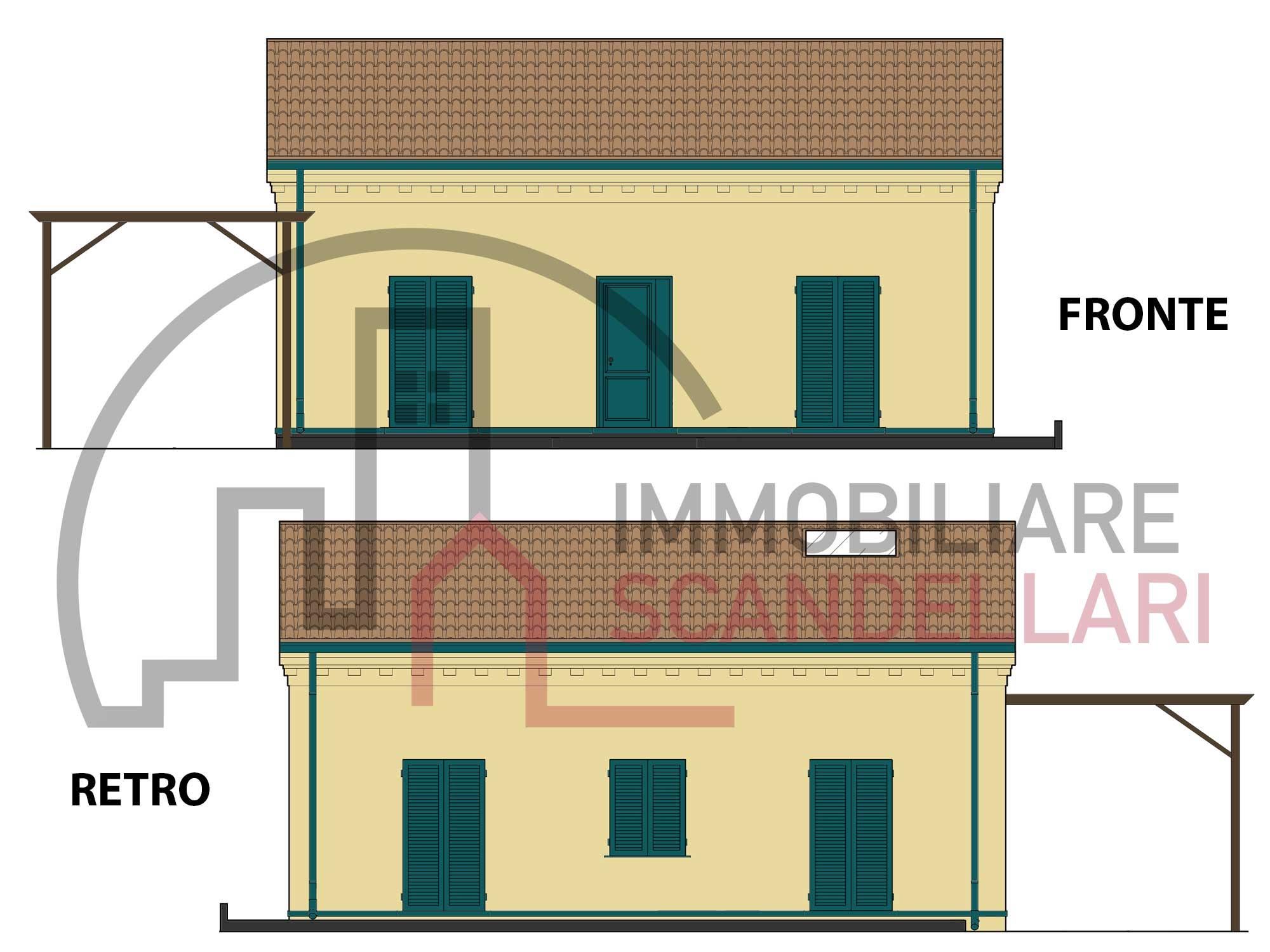 Rimini - San Giuliano Mare - Villetta con ampio giardino - Immobiliare Scandellari