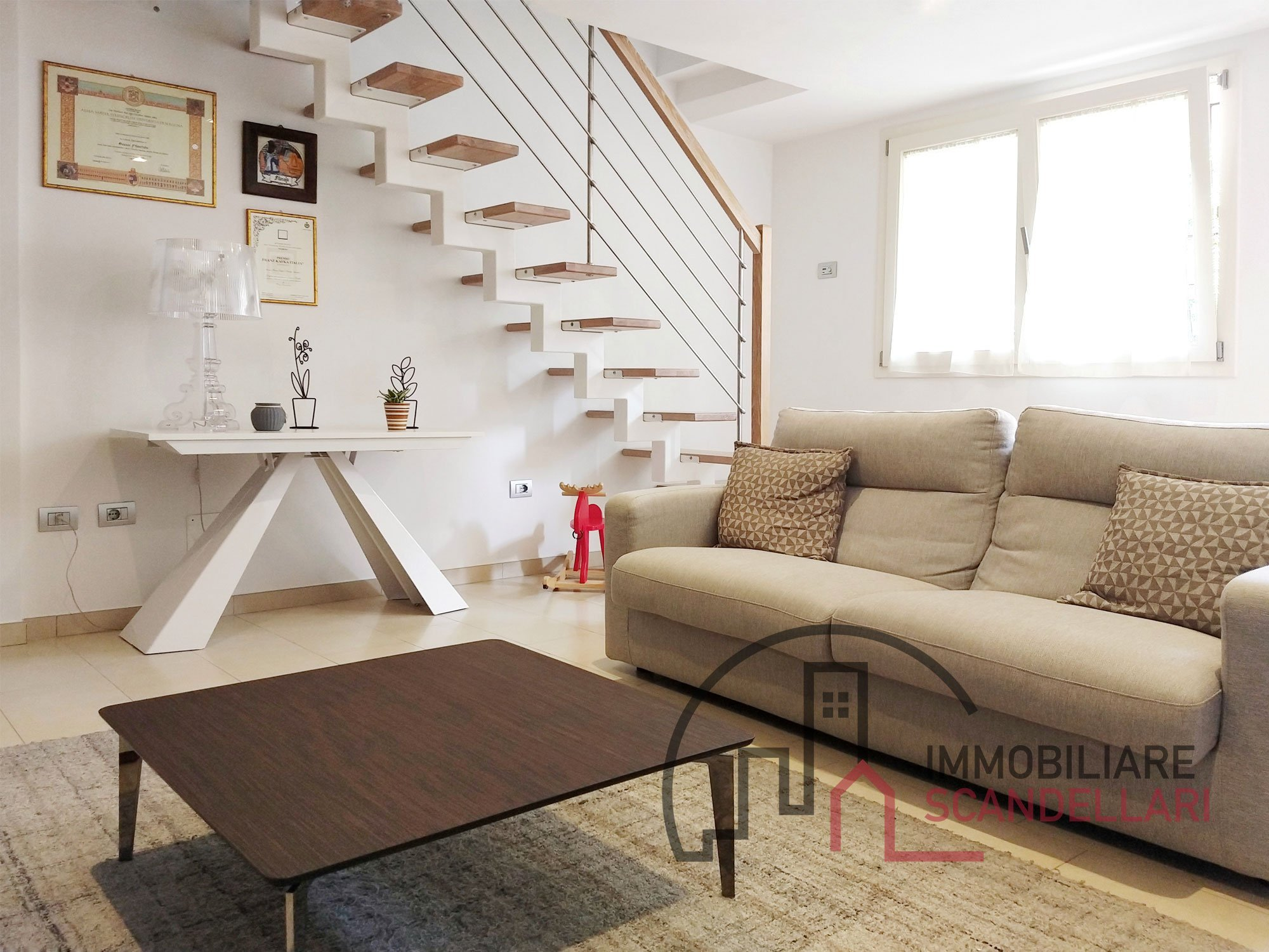 Rimini - Marecchiese - Appartamento ristrutturato con giardino e garage - Immobiliare Scandellari
