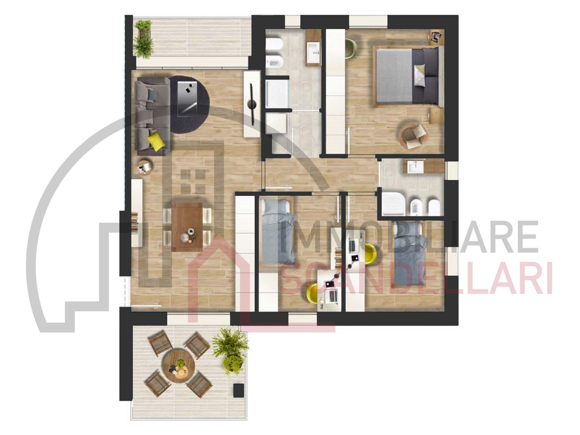 Rimini - Fiera Vecchia - Nuovi appartamenti Classe A4 - Immobiliare Scandellari