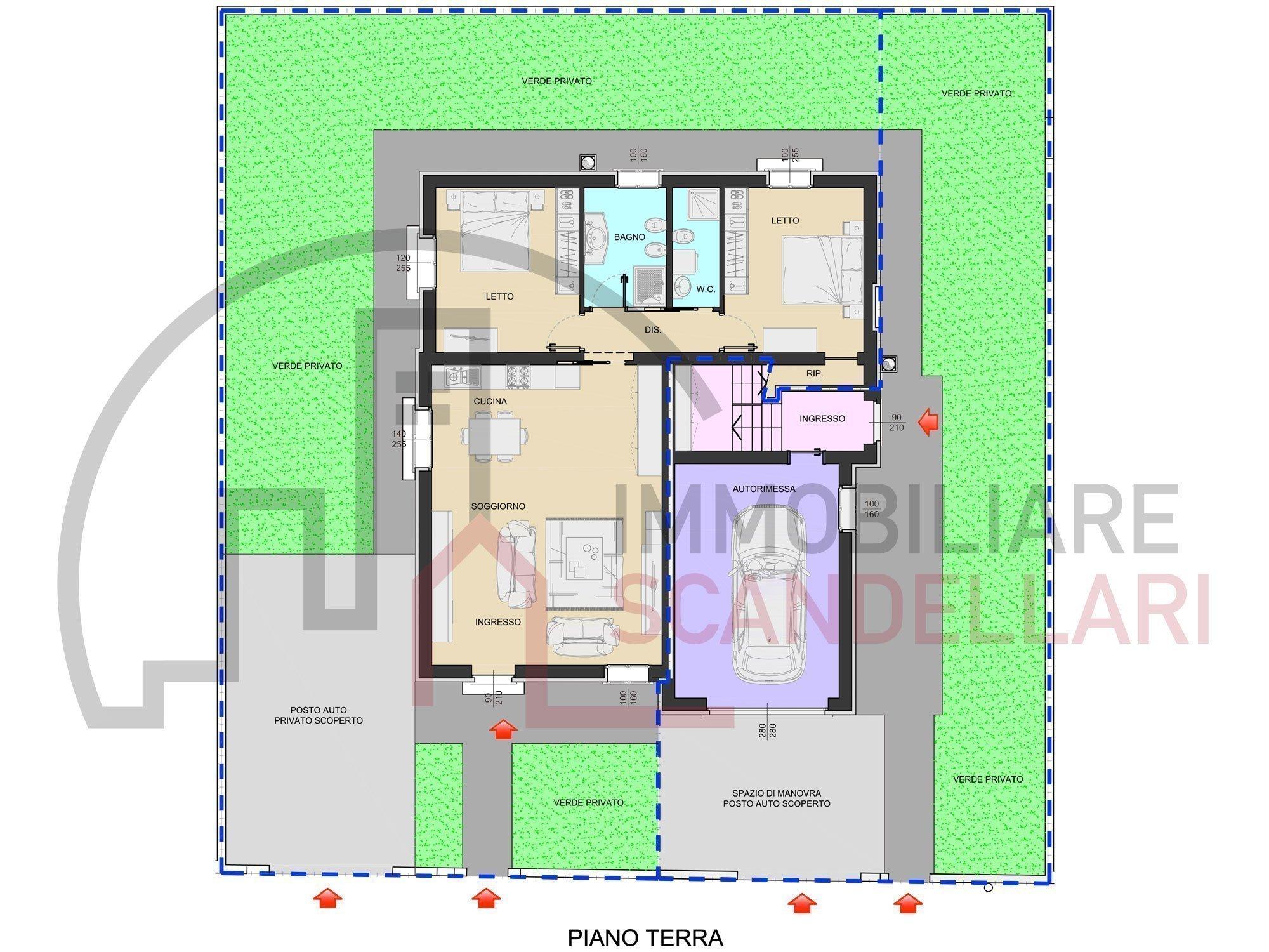 Rimini - Costellazioni - Villa bifamiliare nuova Classe A