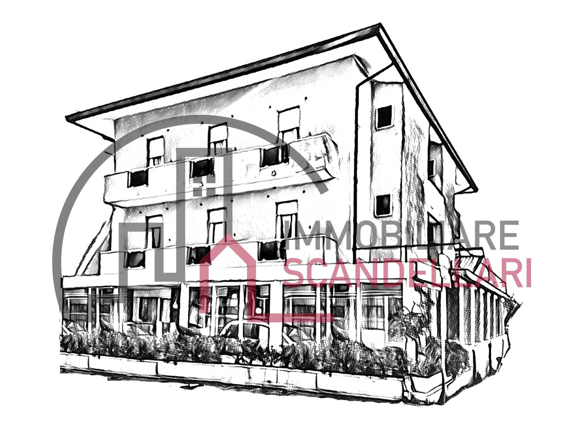 Rimini - Rivabella - Pensione/albergo fronte mare in vendita - Immobiliare Scandellari